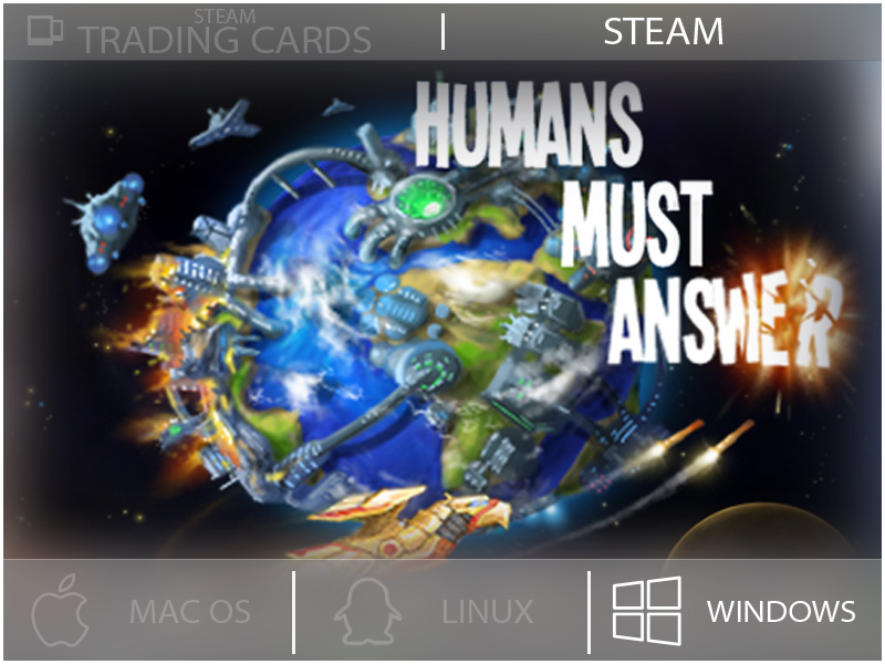 Humans Must Answer by Sumom Games at LazyGuysBundle